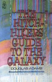 The hitch hiker's guide to the galaxy av Douglas Adams (Heftet)