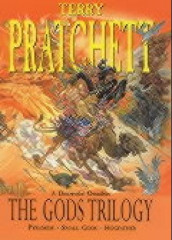 The Gods trilogy av Terry Pratchett (Innbundet)
