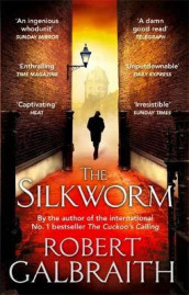 The silkworm av Robert Galbraith (Heftet)