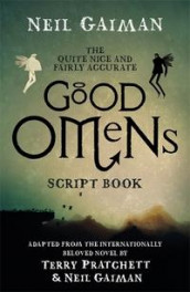 Quite nice and fairly accurate Good omens script book av Neil Gaiman (Heftet)