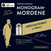 Monogram-mordene av Sophie Hannah (Lydbok MP3-CD)