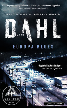 Omslag - Europa Blues