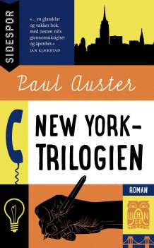 New York-trilogien av Paul Auster (Heftet)