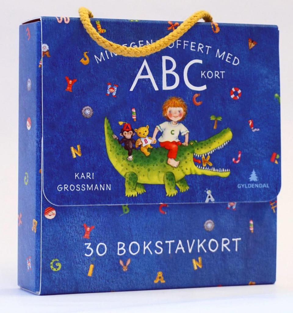 Min Egen Koffert Med Abc Kort Av Kari Grossmann Pakke Krimklubben