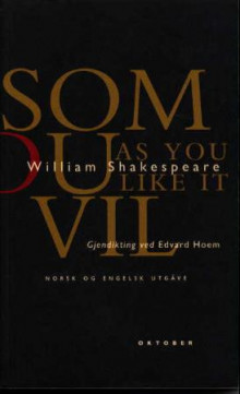 Som du vil = As you like it av William Shakespeare (Heftet)