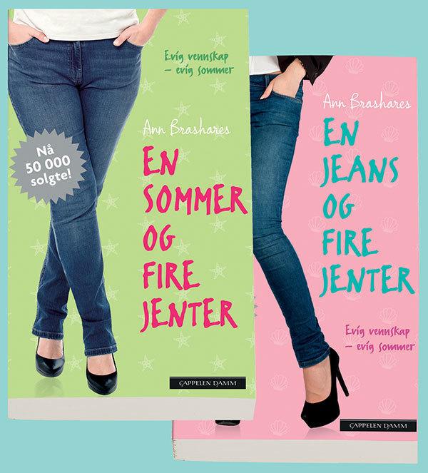 d7b685fe Jenter i jeans - to bøker av Ann Brashares (Pakke) | Krimklubben
